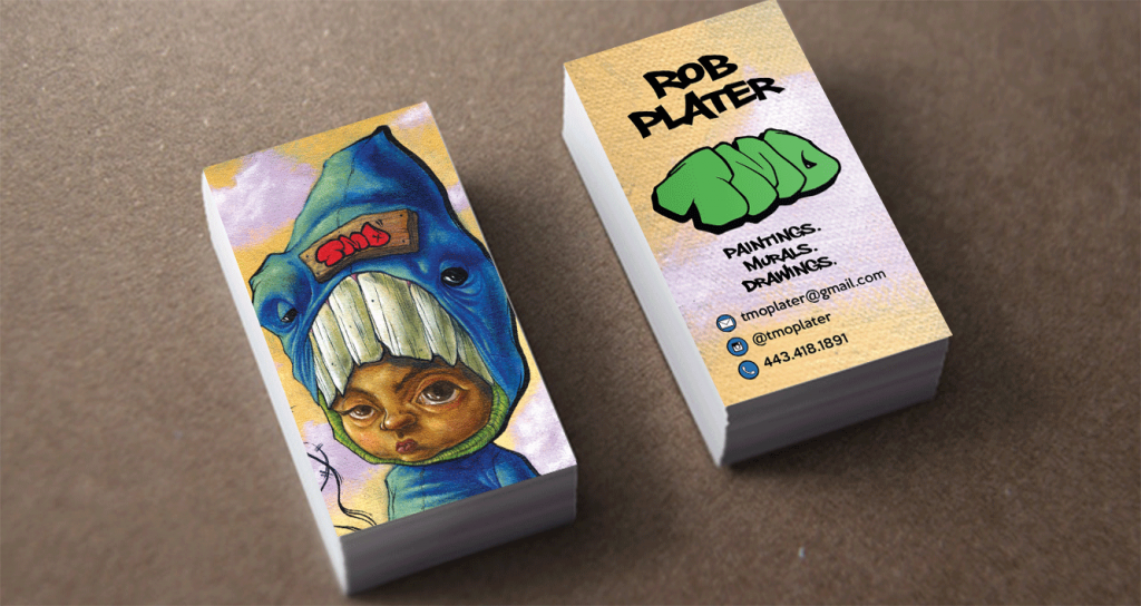 Tmo business cards jalen vasquez cards for a street artist reheart Image collections